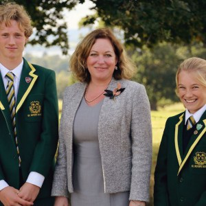 A picture of Charlotte Johnston, the head teacher at our prep school