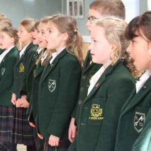 Year 3 sing Reach Out This Christmas