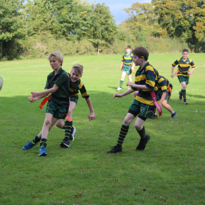 St Peter's Prep students playing rugby
